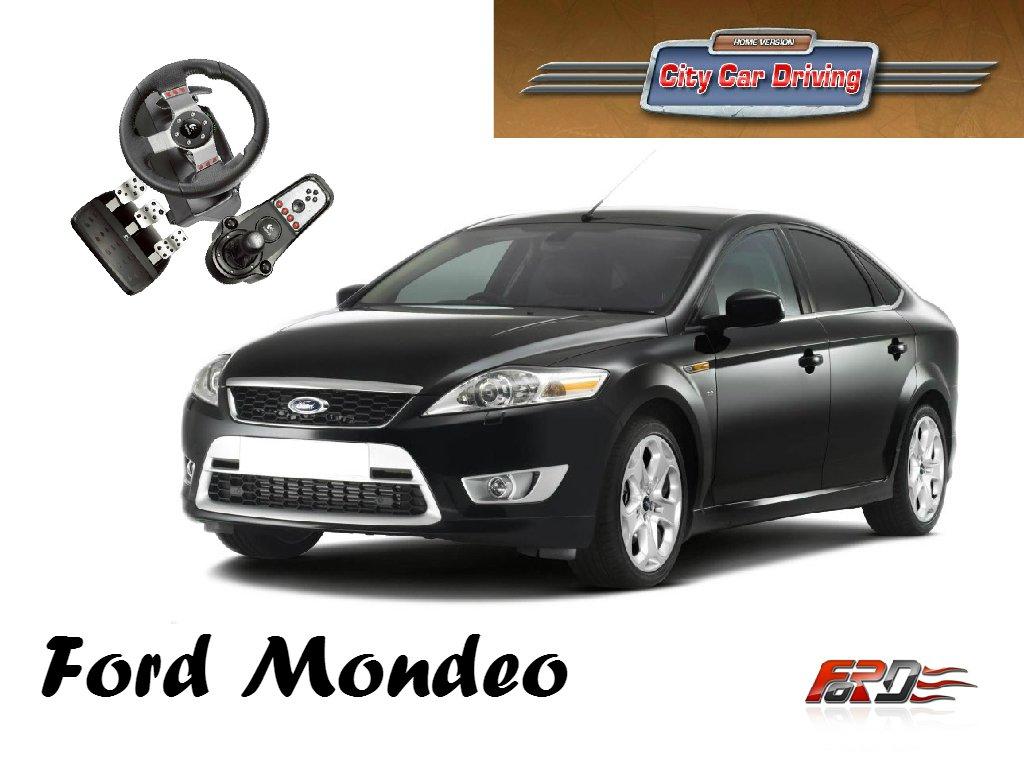 [ City Car Driving ] Ford Mondeo, Mazda 6, Subaru Legacy тест-драйв, обзор автомобилей G27  - Изображение 1
