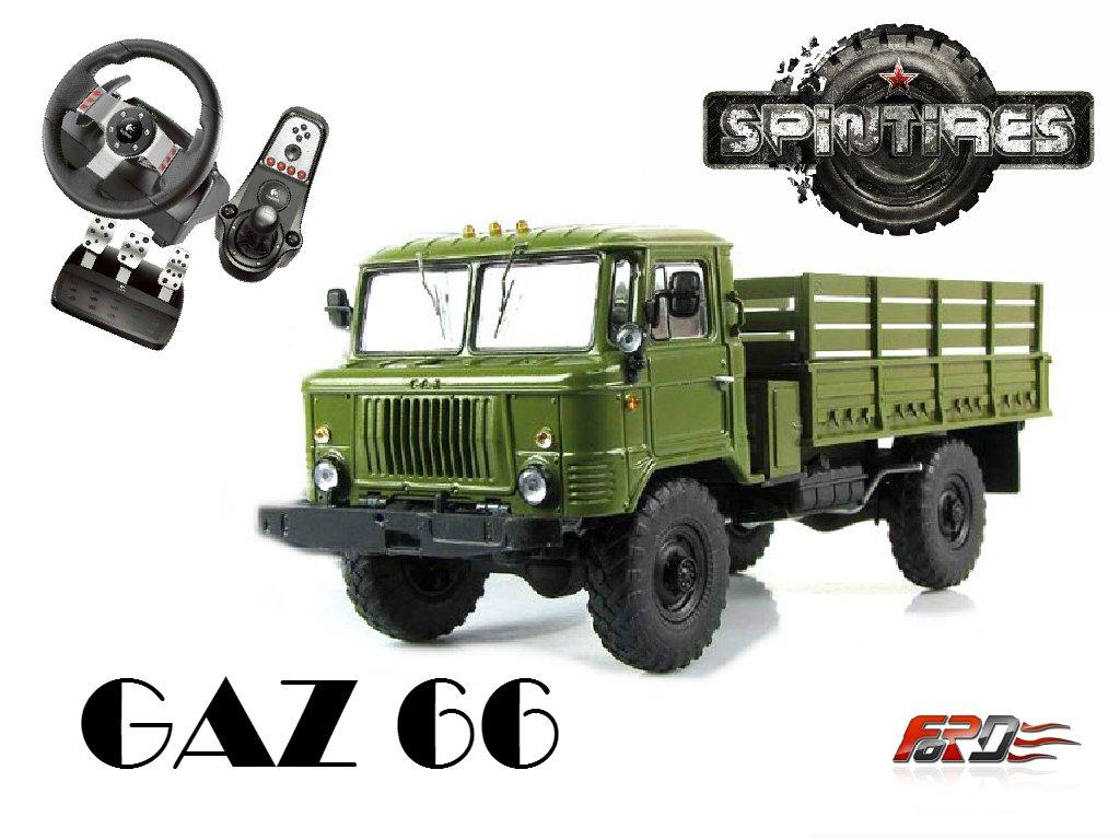 [ SpinTires 2015 ] ГАЗ 66 (GAZ66) тест-драйв, обзор советских автомобилей, грузовиков, внедорожников - Изображение 1