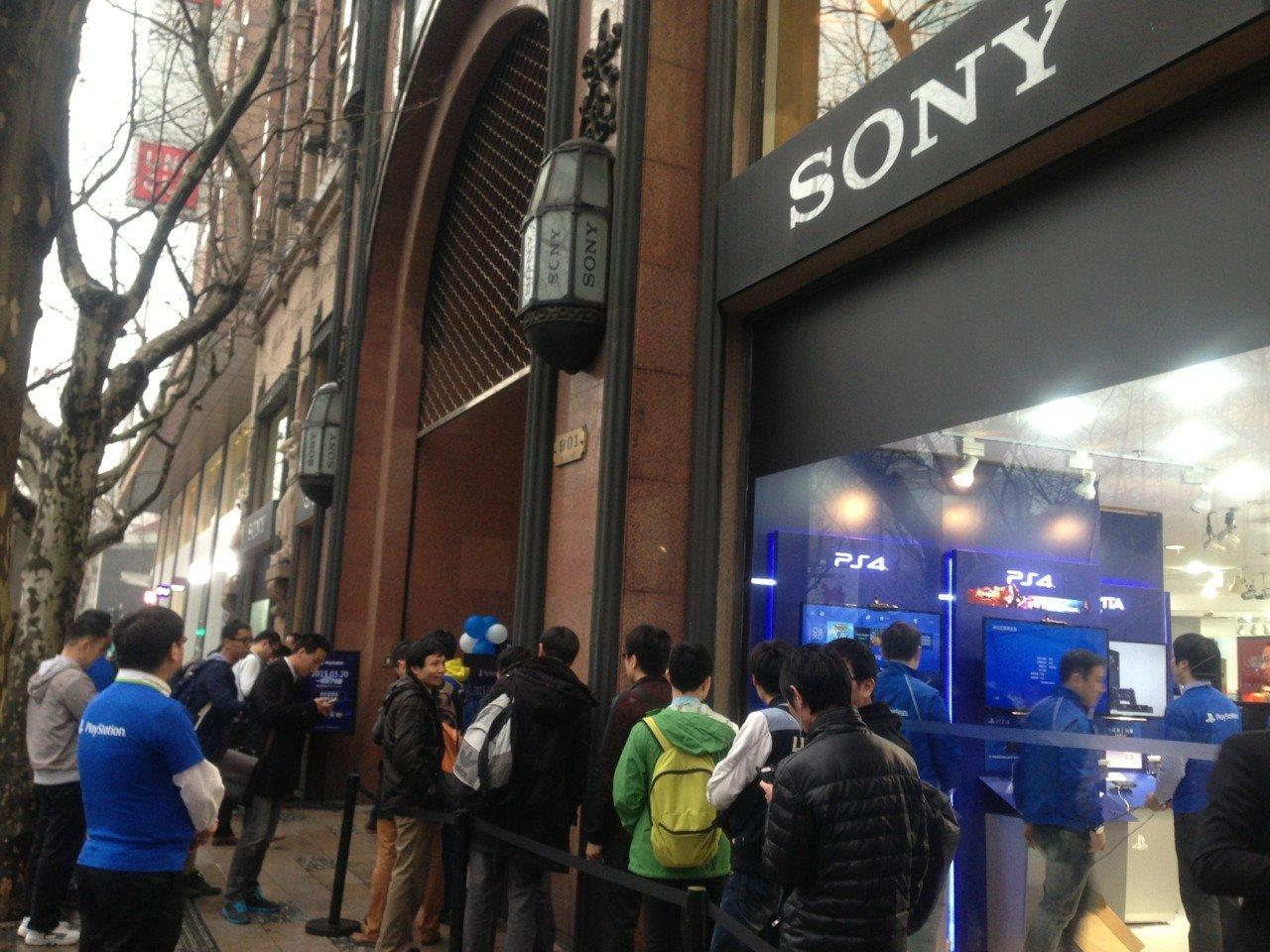 Китайцы встретили PlayStation 4 очередями !!! Долгожданный релиз в Китае ! - Изображение 2