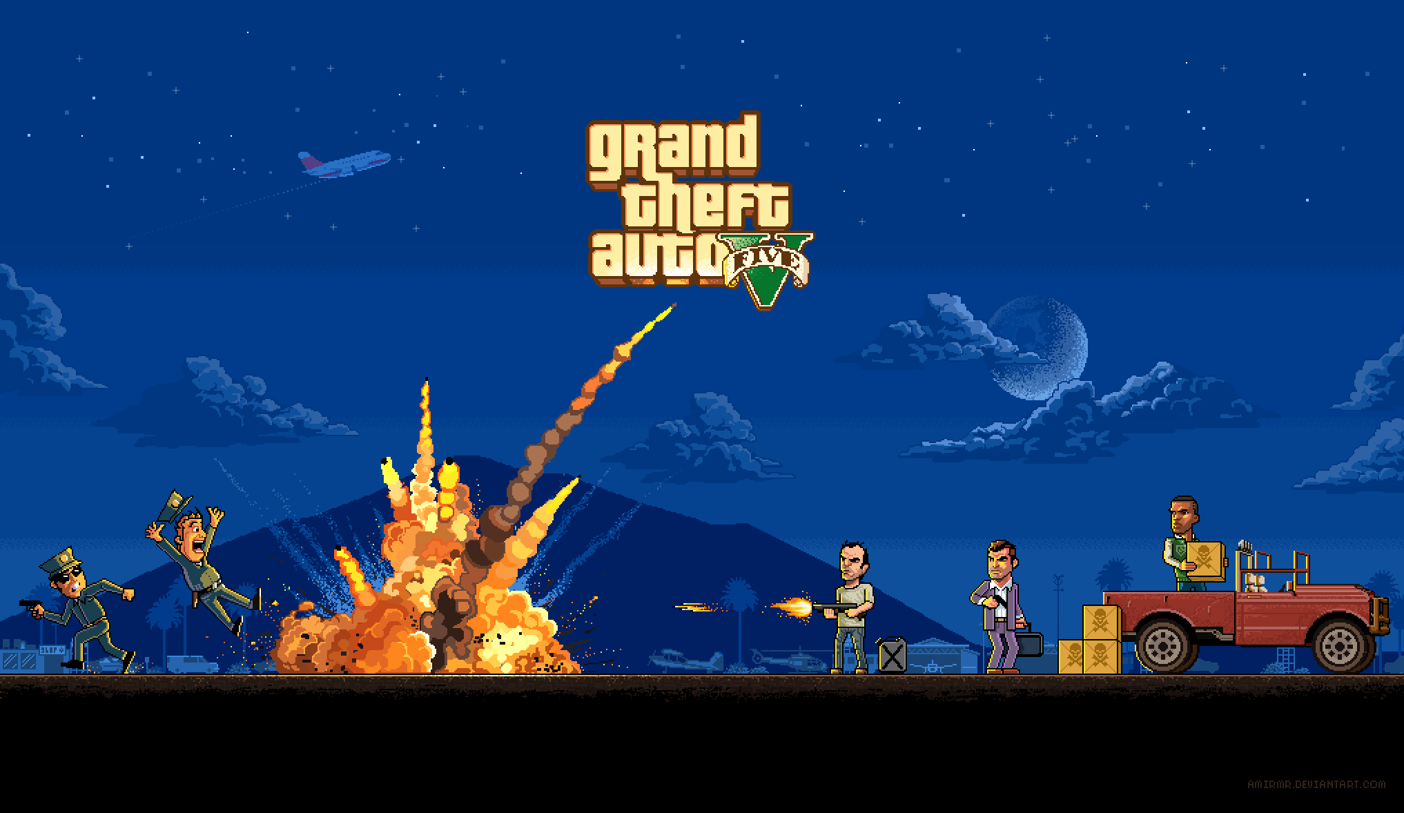 Rockstar Games опубликовали лучший фанатский арт и скриншоты GTAV за прошедшую неделю. - Изображение 1