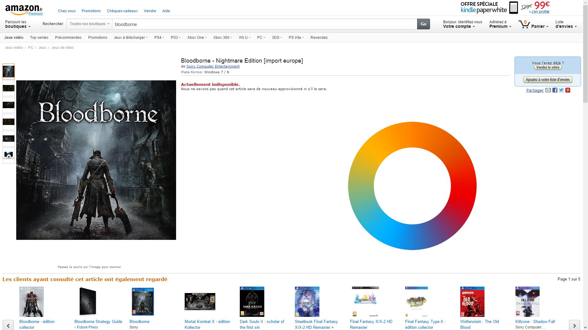 Amazon France засветила PC - версию Bloodborne. - Изображение 2