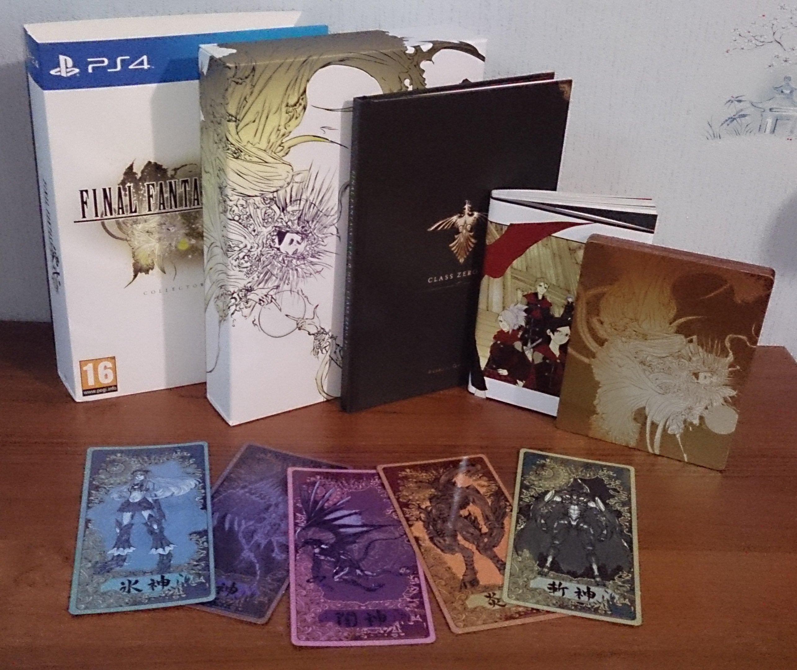 Распаковка Final Fantasy TYPE-0 Collector's Edition - Изображение 16