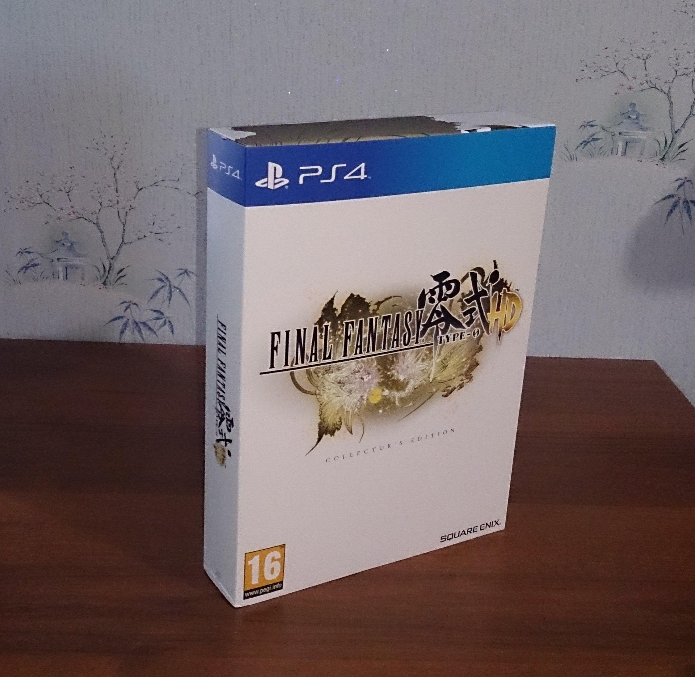 Распаковка Final Fantasy TYPE-0 Collector's Edition - Изображение 1