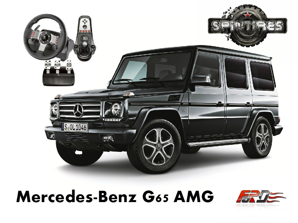 [ SpinTires 2015 ] Mercedes-Benz G65 AMG V12 Biturbo тест-драйв, обзор внедорожника Off-road  - Изображение 1