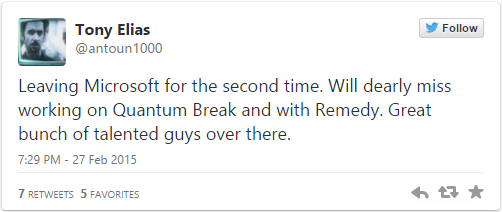 Дизайнер повествования Quantum Break присоединяется к студии-разработчику Shadow of Mordor - Изображение 2