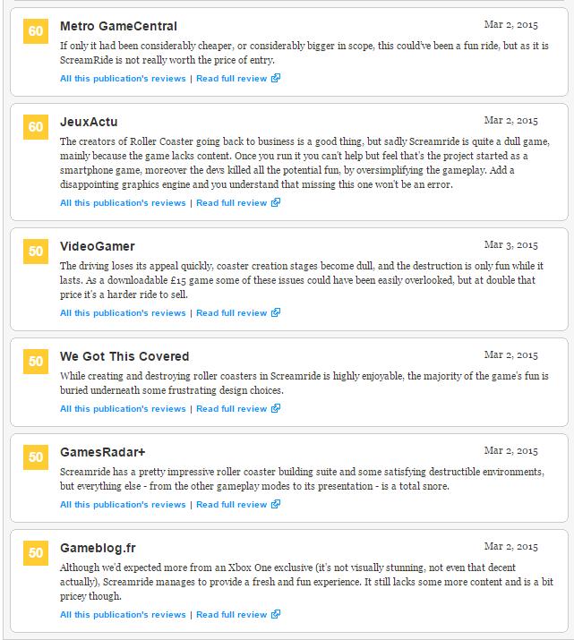 Screamride - первые оценки эксклюзива Xbox (71) - Изображение 5