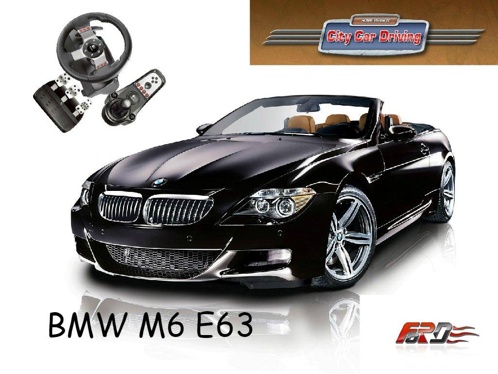[ City Car Driving ] BMW M6 E63 и Jaguar XKR-S - обзор, тест-драйв спортивных автомобилей! . - Изображение 1