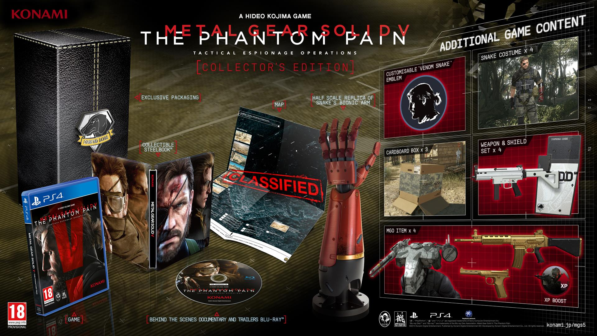 MGSV - версия игры для PC задержится на две недели. А также представлена шикарная PS4 в стиле MGSV !. - Изображение 4