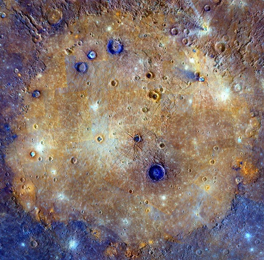 Равнина Жары - самый большой ударный кратер Солнечной системы.  - Изображение 1