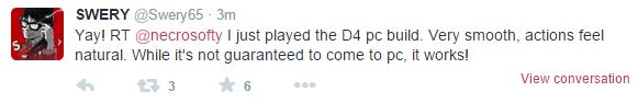 D4: Dark Dreams Don't Die - играбельный PC-билд представлен на GDC 2015. :) - Изображение 1