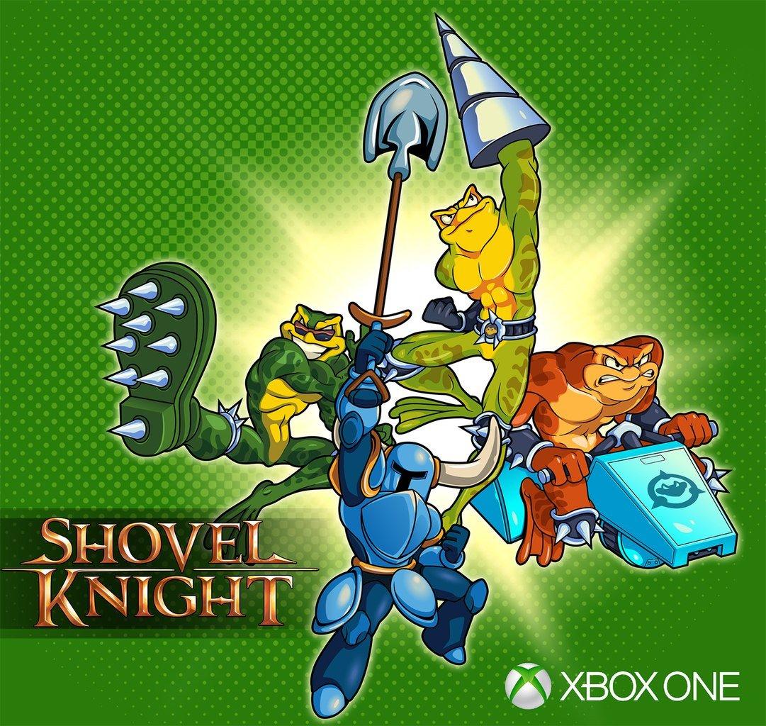 В Shovel Knight заявятся боевые жабы! Но только на Xbox One. - Изображение 1