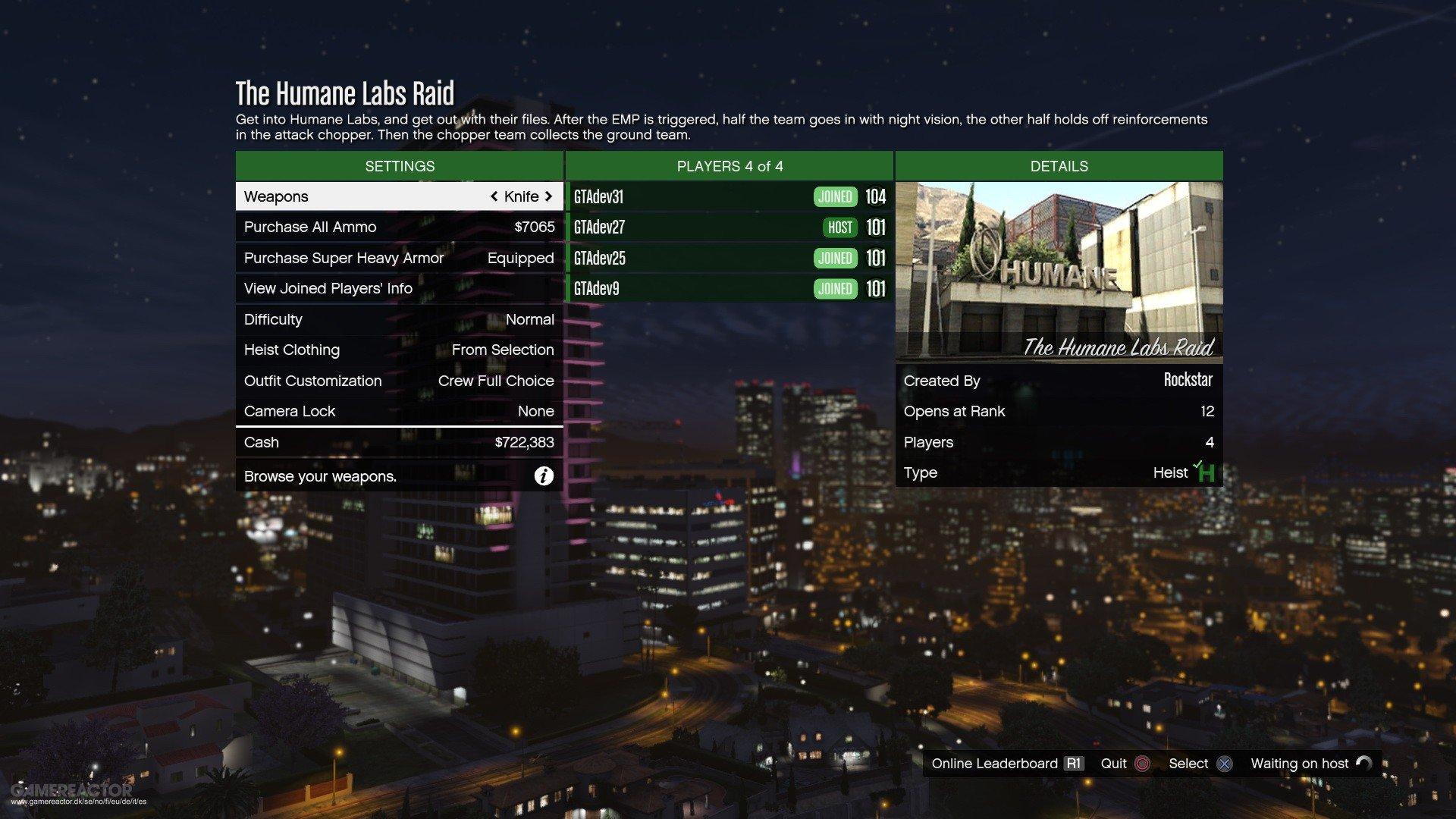 Порция новых скриншотов DLC Heists для GTA: Online.  (Обновлено) - Изображение 1