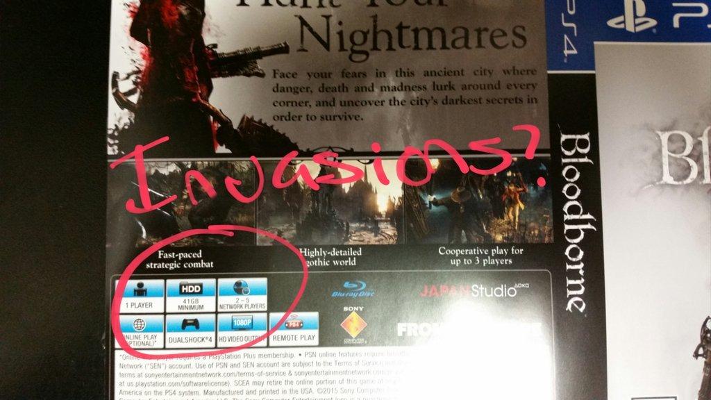 Анонимный пользователь 4Chan выложил снимок обратной стороны игрового диска Bloodborne - Изображение 1