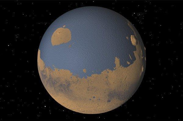 20% поверхности Марса было покрыто океаном. - Изображение 1