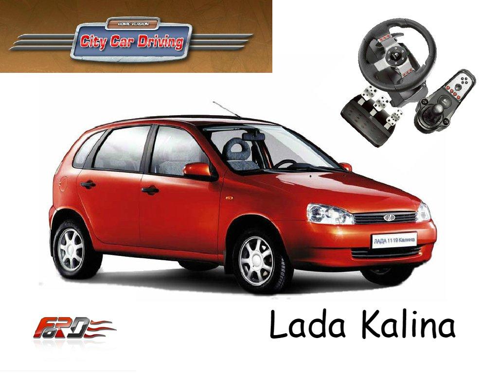 [ City Car Driving ] Lada Kalina (ВАЗ 1118) и ВАЗ 2112 - тест-драйв, обзор русских автомобилей  - Изображение 1