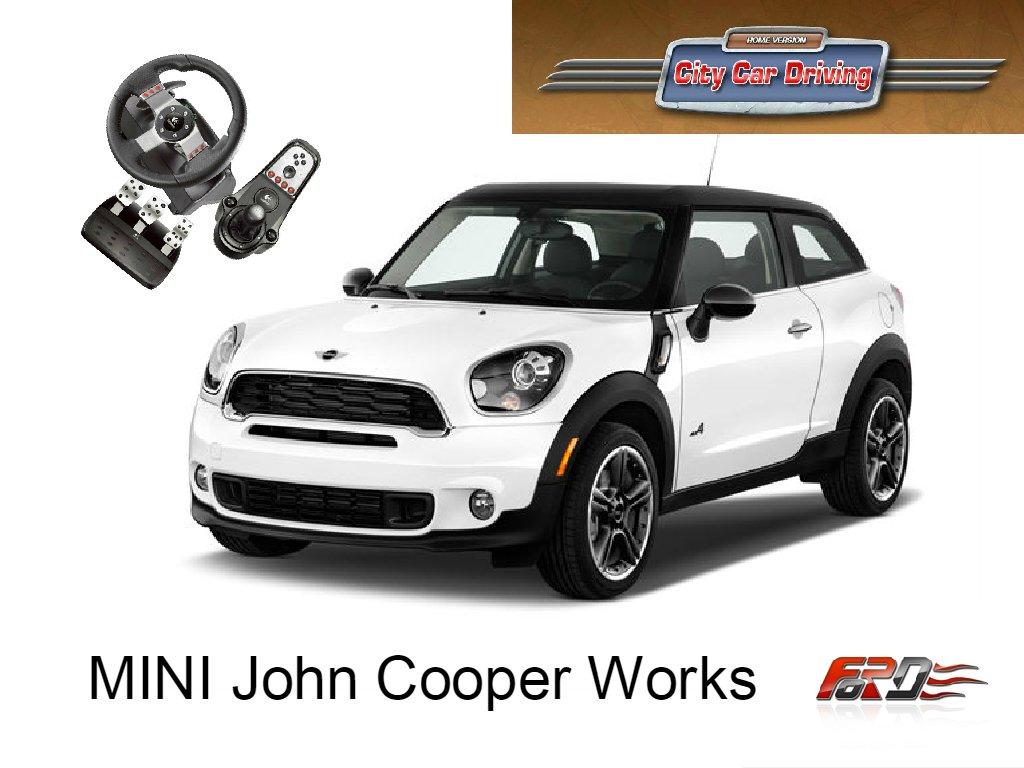 City Car Driving MINI John Cooper Works GP тест-драйв, обзор. ОСТОРОЖНО, быстрая езда!  - Изображение 1