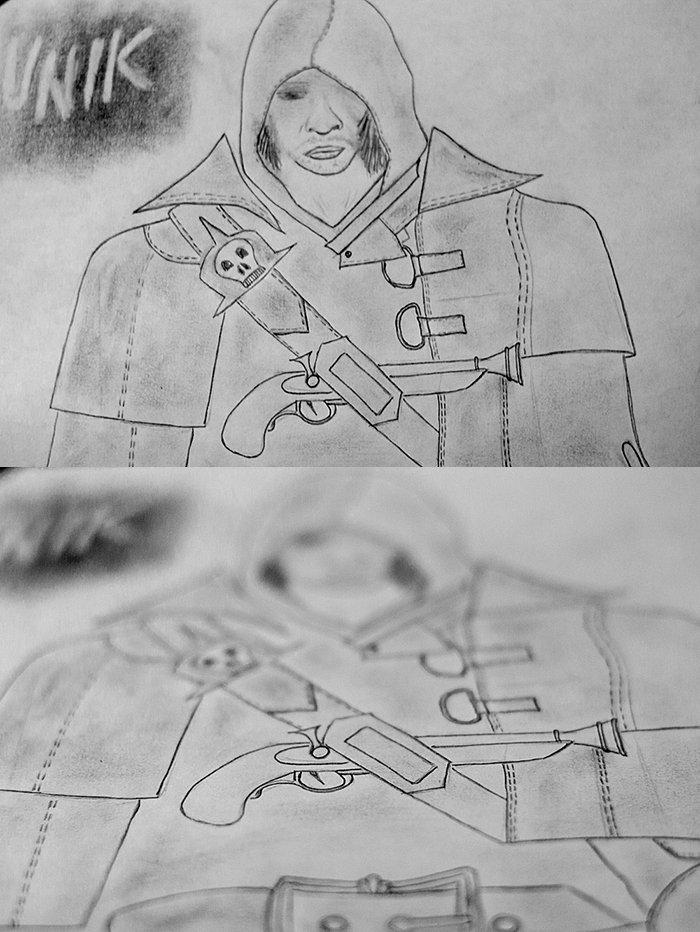 Немного тут порисовал Assassin's Creed BF - Изображение 1