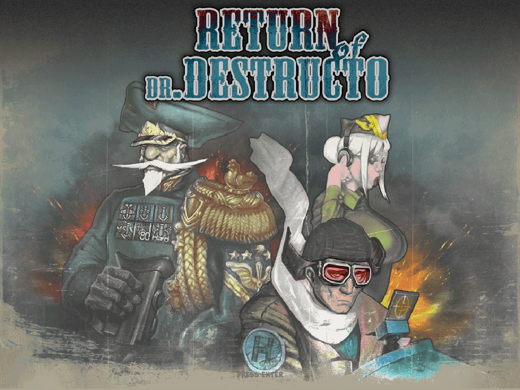 Финальная версия Return of Dr. Destructo, трейлер и исходный код. - Изображение 1