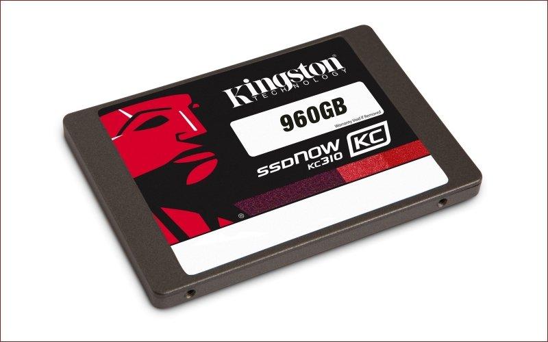 Kingston представляет новый SSD KC310 на контроллере Phison PS3110-S10 емкостью 960 гигабайт - Изображение 1