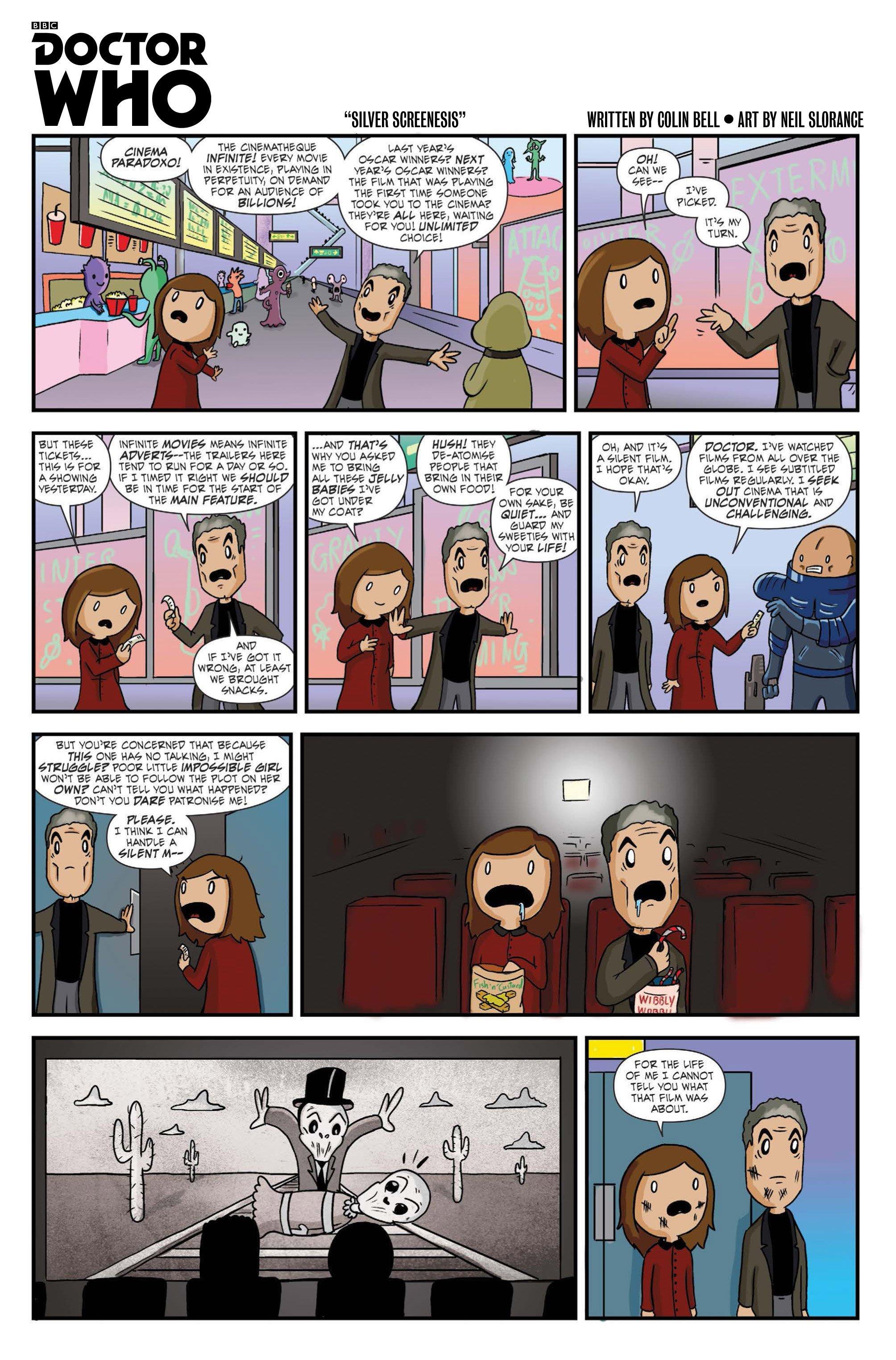 Как Доктор и Клара в кинотеатр ходили. - Изображение 1
