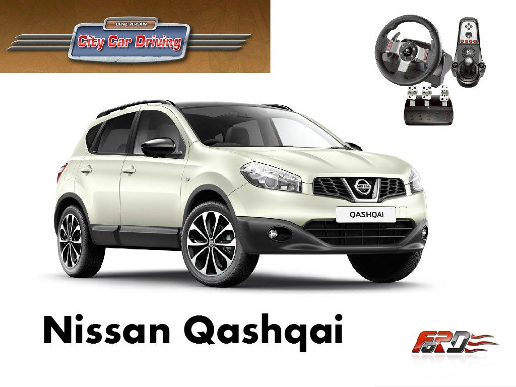 City Car Driving Nissan Qashqai (Ниссан Кашкай) тест-драйв, обзор, off-road, замеры Racelogic  - Изображение 1