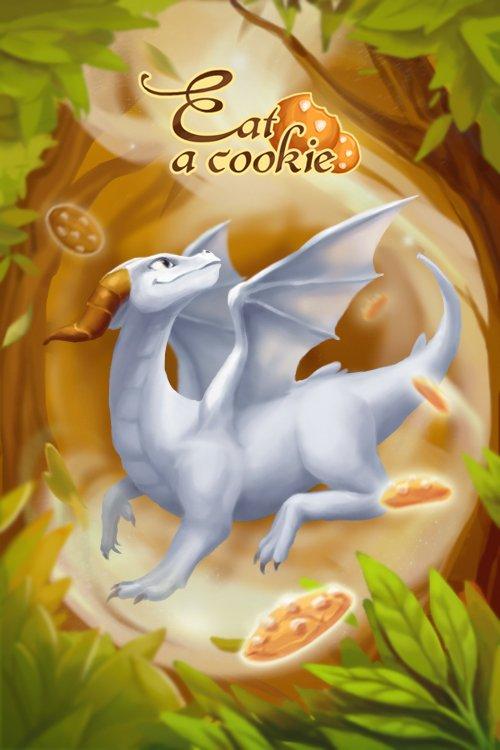 """Eat a cookie!"": дракон-сладкоежка и бои со стражами. - Изображение 2"