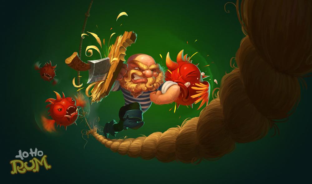 Yo Ho Rum на GamesJamKanobu - Изображение 1