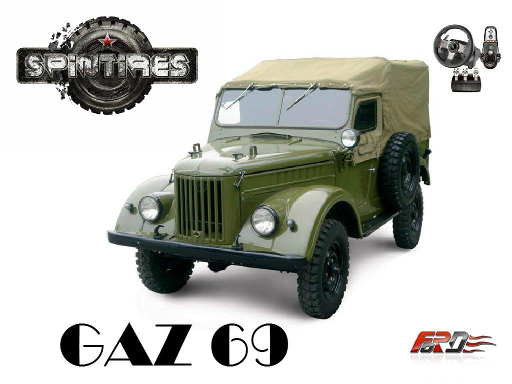 """SpinTires 2015 ГАЗ 69 """"Козел"""" (GAZ69) тест-драйв, обзор, off-road, Logitech G27  - Изображение 1"""