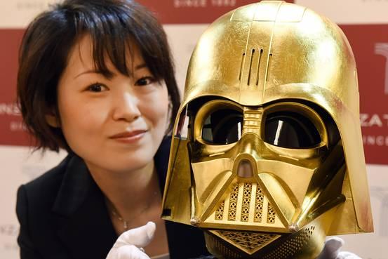 Японские ювелиры подарят «Диснею» золотой шлем Дарта Вейдера - Изображение 1