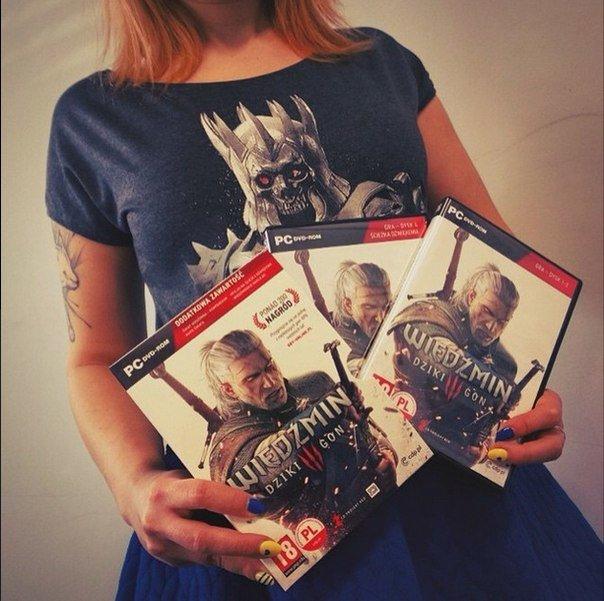 А тем временем в офис CD Projekt прибыли первые коробки игры «Ведьмак 3: Дикая Охота». - Изображение 1