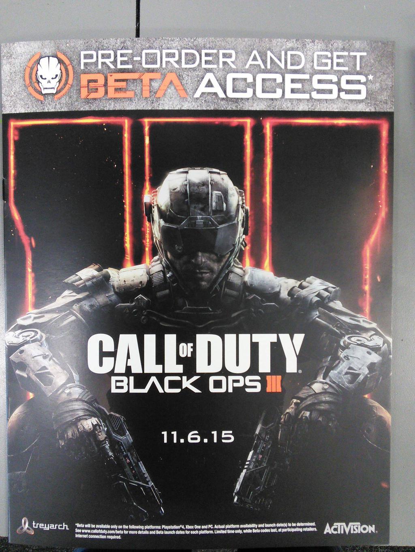 Black Ops 3 - 6 ноября. - Изображение 1