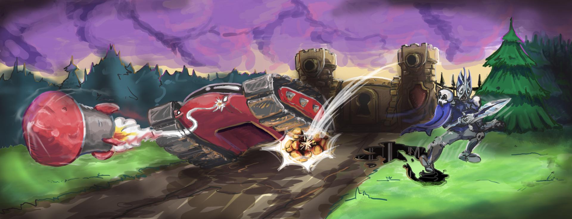 Battle Traсk для HOTS  - Изображение 1