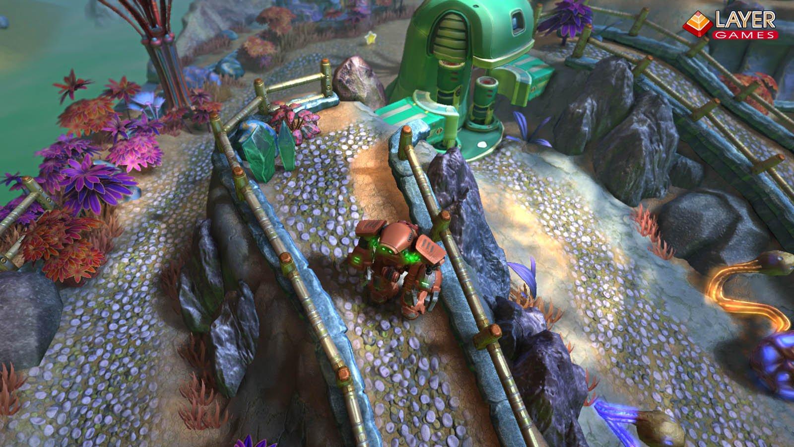 "3d аркада ""Terrarium-land"" в  Steam Greenlight. - Изображение 4"