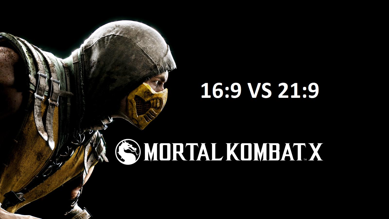 Mortal Kombat X - 16:9 vs 21:9 - Изображение 1