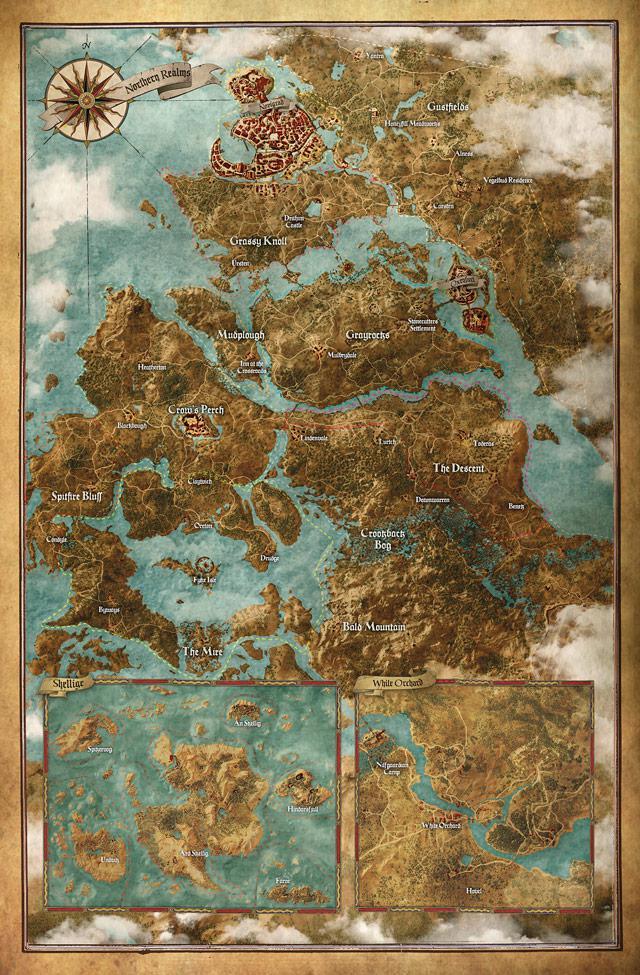 The Witcher 3: Wild Hunt. Размер игровой карты и система загрузок экрана в игре.   Пользователи NeoGAF узнали размер ... - Изображение 2