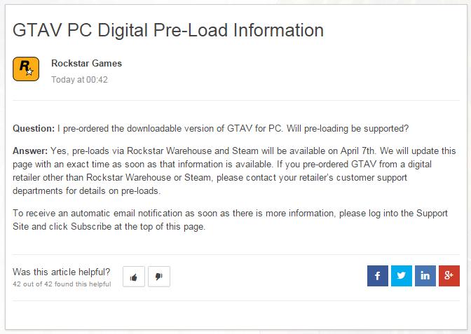 Предзагрузка Grand Theft Auto 5 для PC [Обновлен] - Изображение 2