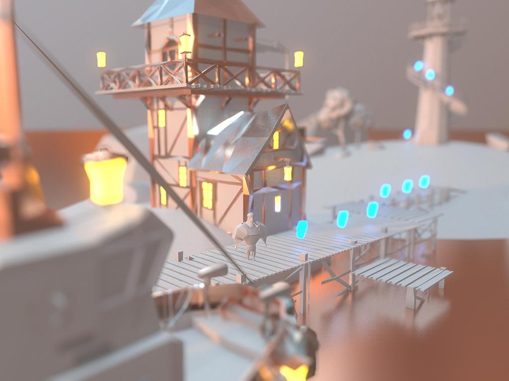 Traces of Light - приключения хранителя маяка. - Изображение 3