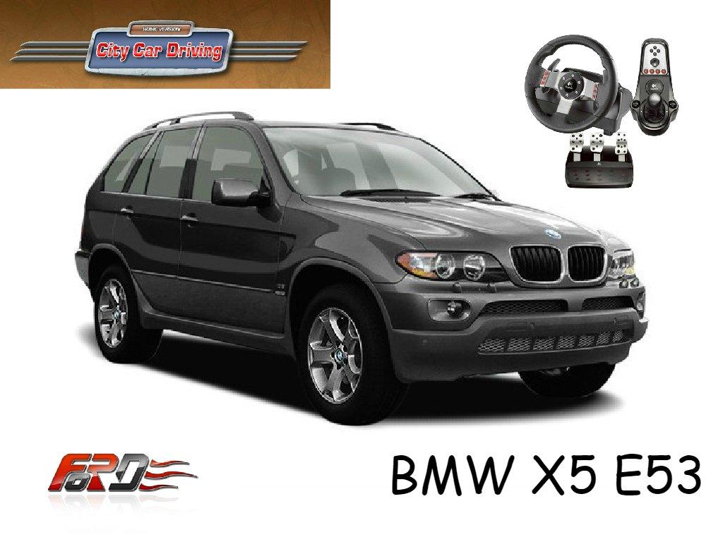 City Car Driving BMW X5 E53 тест-драйв, обзор автомобилей, внедорожников, off road, платный мод!  - Изображение 1