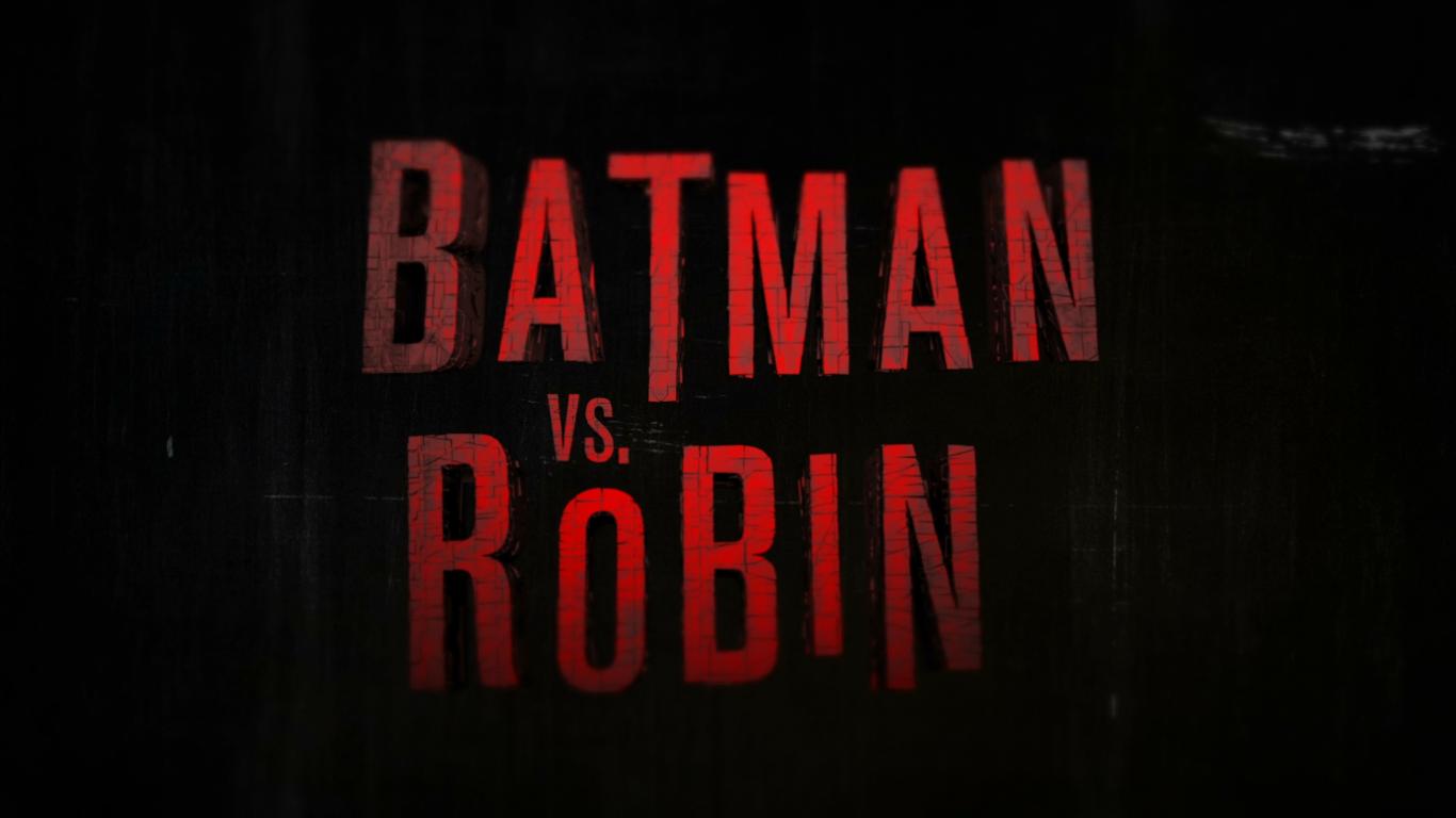 Batman vs. Robin [spoiler alert] - Изображение 1