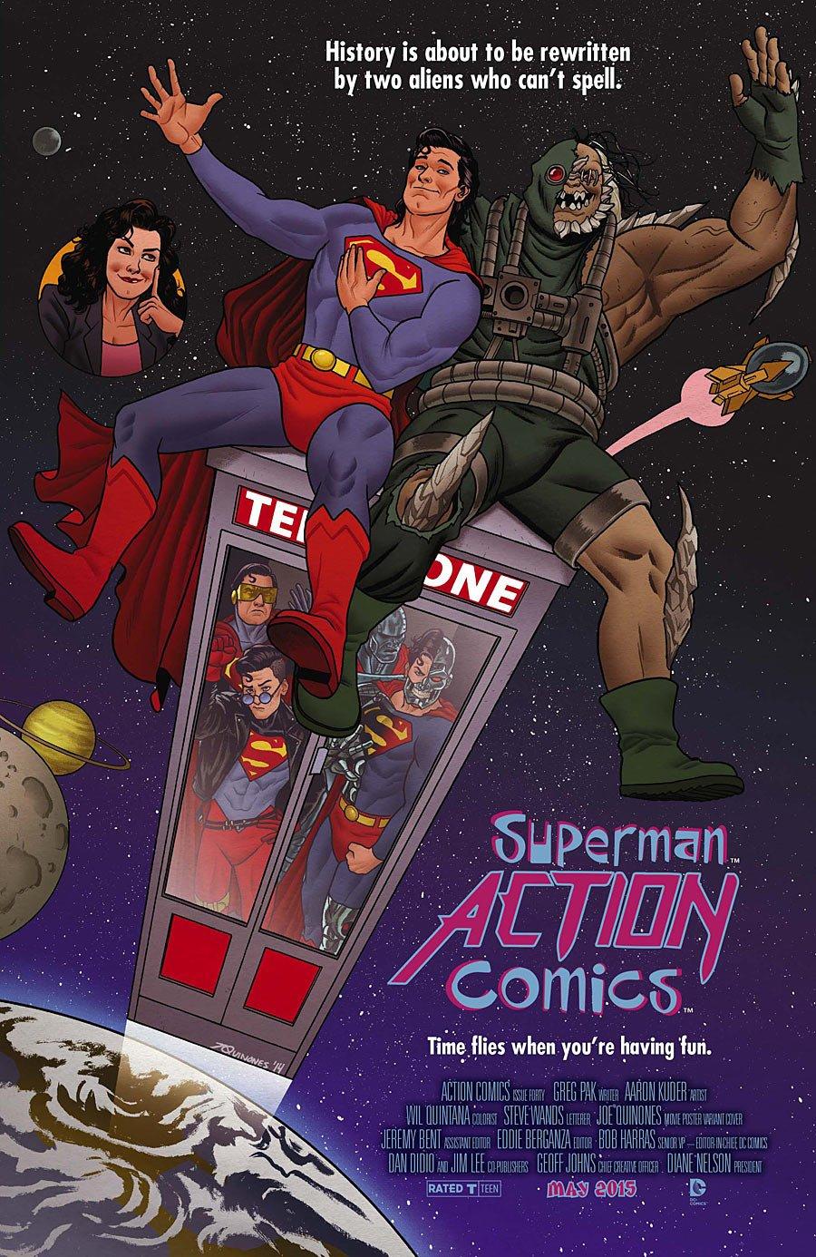 Кинематографические обложки DC. Угадай все фильмы. - Изображение 3