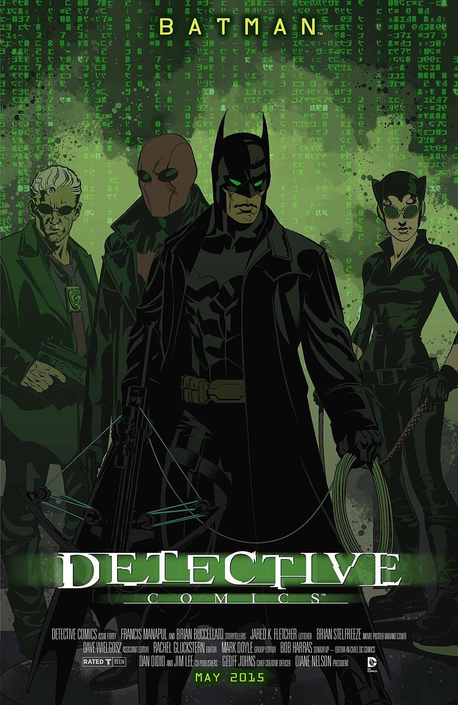 Кинематографические обложки DC. Угадай все фильмы. - Изображение 2