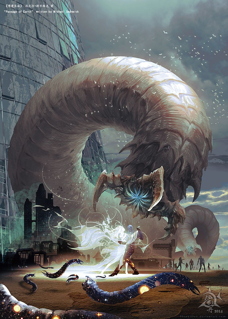 Witcher is coming, китайский художник на польскую игру с намёком на американский сериал - Изображение 3