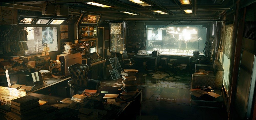 Deus Ex: Human Revolution - арт-лента - Изображение 44