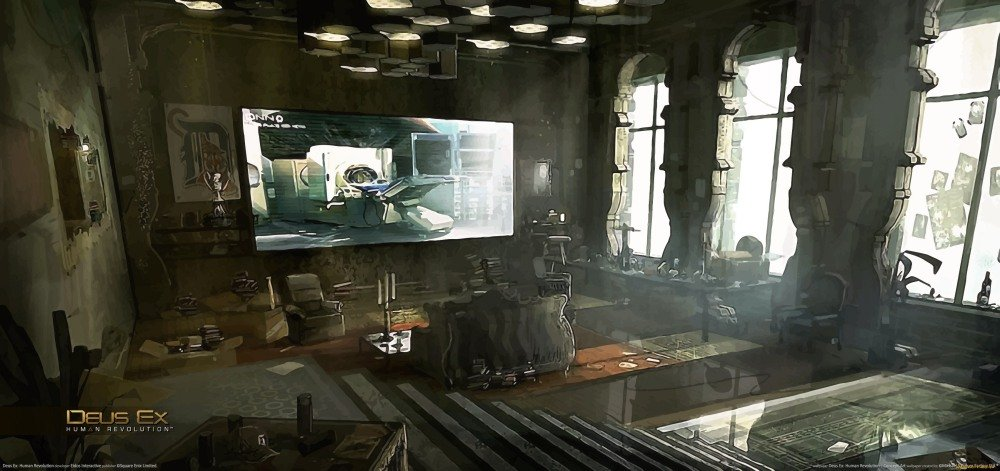 Deus Ex: Human Revolution - арт-лента - Изображение 5