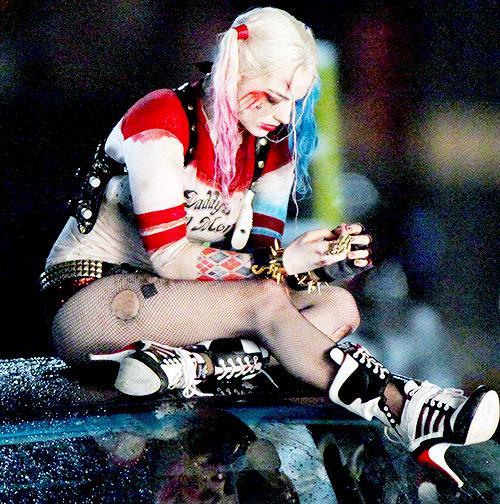 Новые фотографии Марго Робби в образе Харли Квинн со съемок Suicide Squad.. - Изображение 1