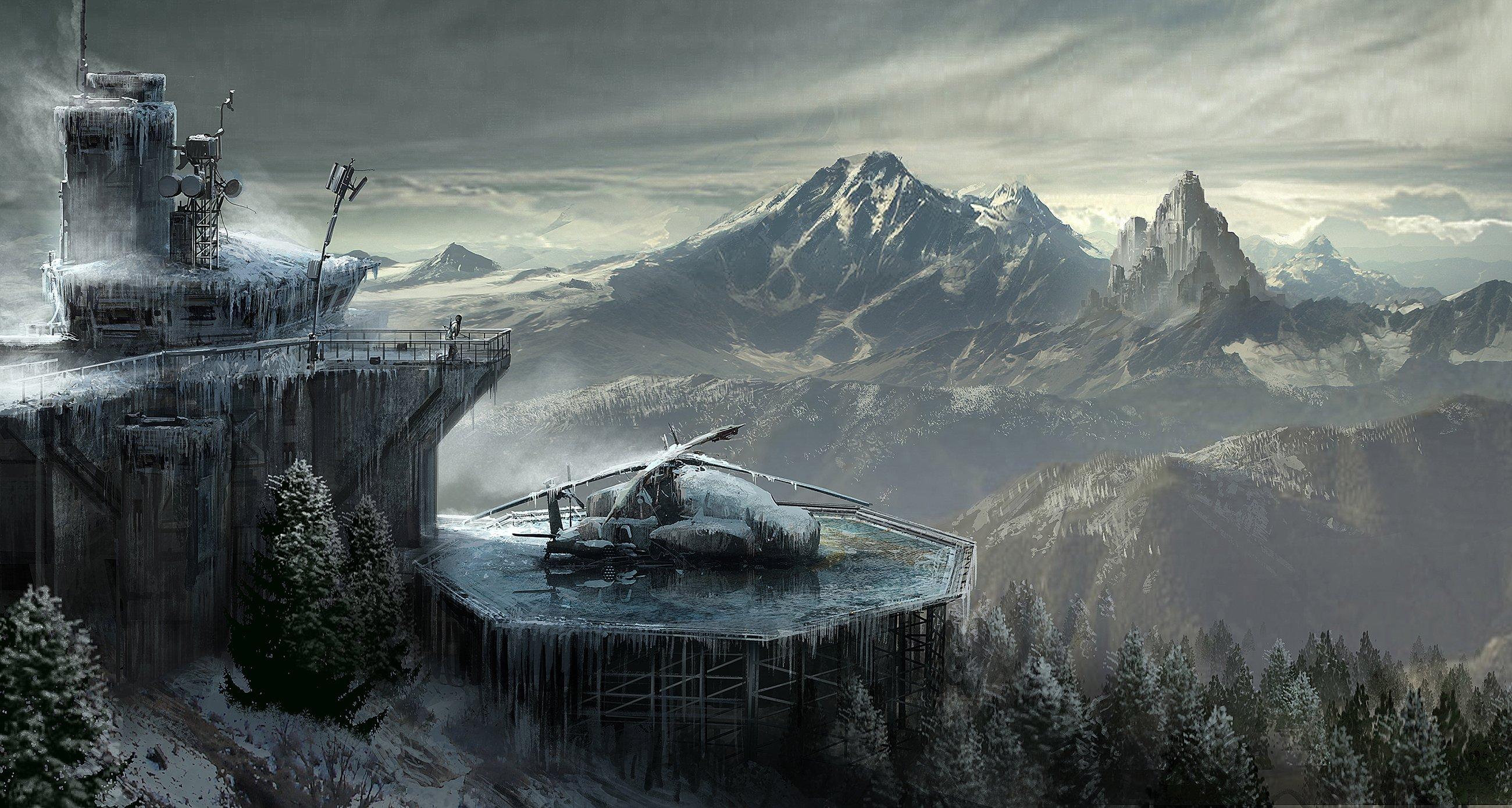 Rise of the Tomb Raider Concept Art - Изображение 2