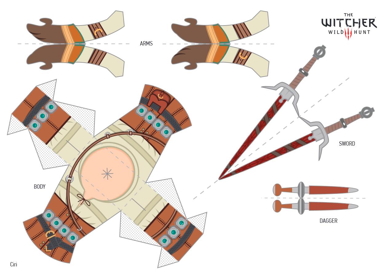 Бумажные мечи своими руками 881