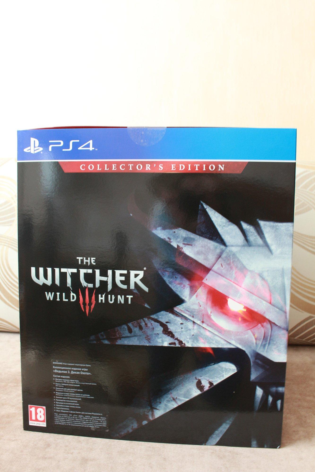 Анбоксинг коллекционного издания игры Ведьмак 3: Дикая охота - Изображение 2