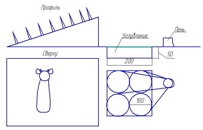 Как связать силок