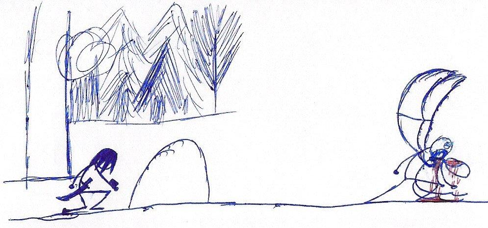 ОХОТНИК НА МОНСТРОВ ( ГРИФОН ЧАСТЬ 1) - Изображение 19